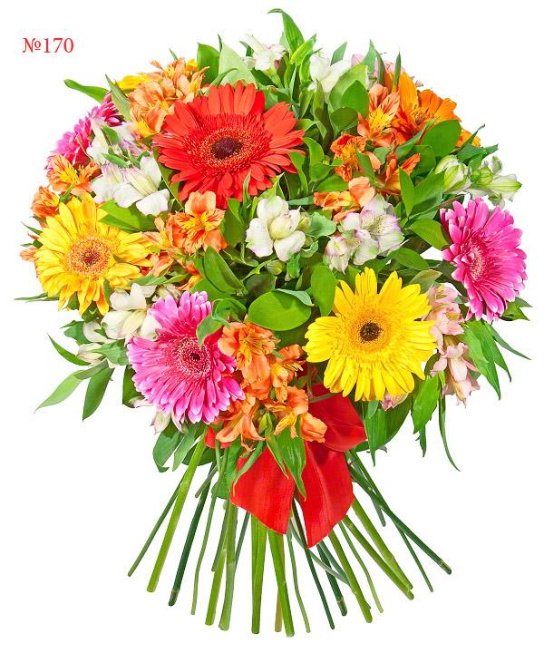 Красивый летний букет цветов