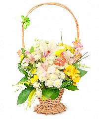 Цветы в корзине с доставкой купить оптом семена и цветы