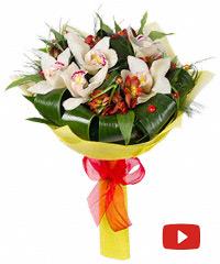 Недорогие букеты альстромерий с доставкой где купить цветы для сада в москве