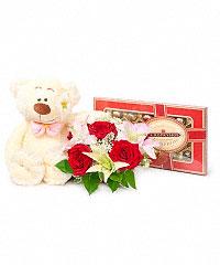 Доставка мягких игрушек и цветов для любимой девушке заказать букет с доставкой м.дмитровская