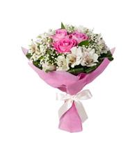 """Букет из цветов """"Антракт"""" с доставкой по Астрахани 15 - 30 см."""