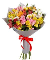 """Букет из цветов """"Восторг"""" с доставкой по Йошкар-Оле 30 - 60 см."""