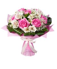 """Букет из цветов """"Антракт"""" с доставкой по Астрахани 25 - 35 см."""