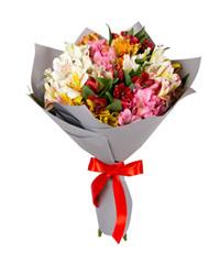 """Букет из цветов """"Восторг"""" с доставкой по Йошкар-Оле 25 - 60 см."""