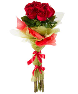 "Bouquet from flowers ""Neapolitan Night "" 15 - 60 cm."
