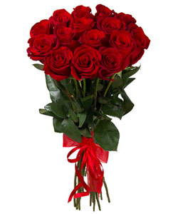 "Bouquet from flowers ""Turkish Rose "" with delivery in Krasnoyarsk 25 - 60 cm."