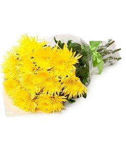 "Bouquet from flowers ""Golden Stars"" 25 - 45 cm."