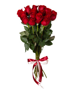 """Букет из цветов """"Букет из красных роз 50см"""" 20 - 50 см."""