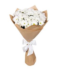"""Букет из цветов """"Букет из хризантем """" 25 - 45 см."""
