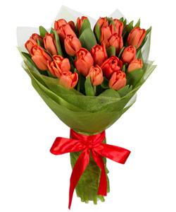 """Букет из цветов """"Весенние тюльпаны"""" 25 - 30 см."""