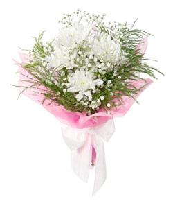 "Bouquet from flowers ""Winter Moon"" 15 - 25 cm."