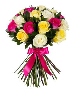 """Букет из цветов """"Букет """"Ассорти из роз"""""""" 30 - 40 см."""