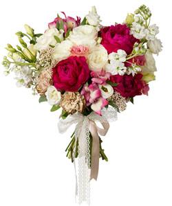 """Букет из цветов """"Букет """"Свадебный вальс"""""""" 30 - 35 см."""