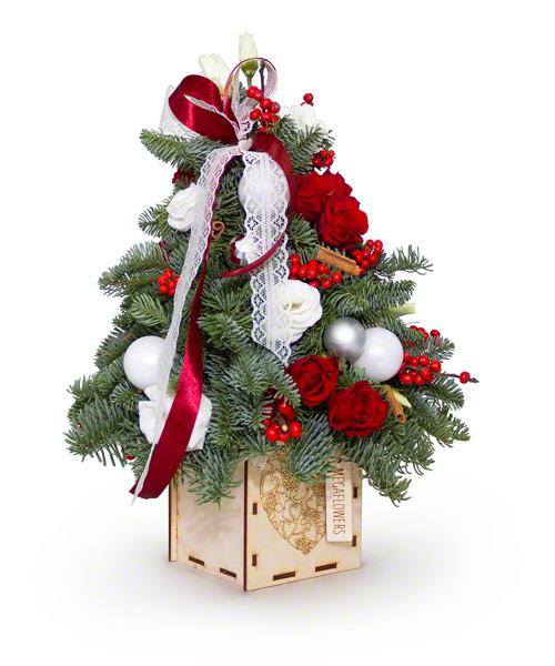 Композиция Огни Рождества